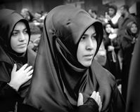 The global mourning ceremony of Ashura. Karbala Martyrs Commemor Royalty Free Stock Photo