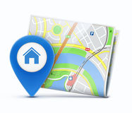 Global navigation concept Royalty Free Stock Photos