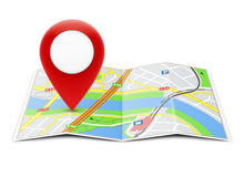 Global navigation concept Royalty Free Stock Images