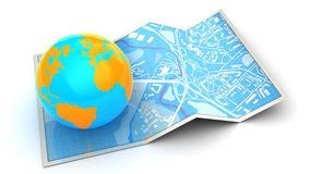 Global navigation Royalty Free Stock Photography