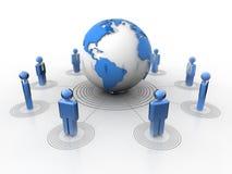 Global network Stock Photography