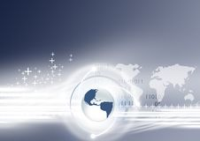 Global Network Stock Image