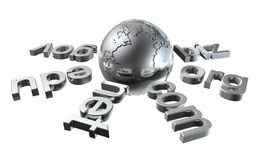 Global Network Royalty Free Stock Images