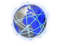 Global network Stock Photos