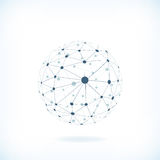Global network background Royalty Free Stock Images
