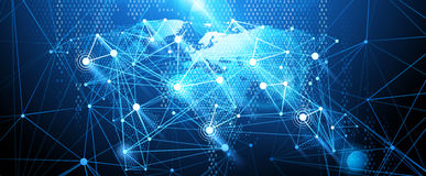 Global network background. Vector vector illustration