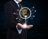 Global network. Stock Photo
