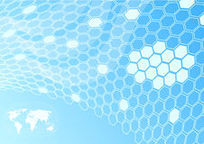 Global network - cell concept royalty free stock photo