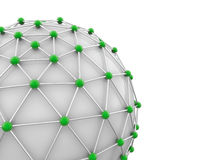 Global network concept Royalty Free Stock Photos