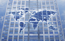 Global network connection concept Stock Image