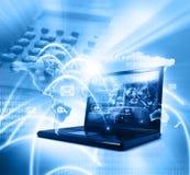 Global network connection. Digital illustration of Global network connection royalty free illustration