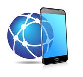 Phone Network Icon royalty free illustration