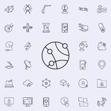 global network icon. New Technologies icons universal set for web and mobile royalty free illustration