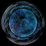 Global network internet technologies. Royalty Free Stock Photo
