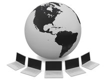 Global Network Royalty Free Stock Image