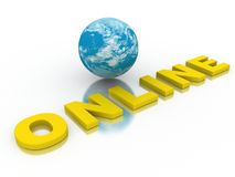 Global Network The Internet Royalty Free Stock Photography