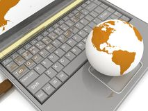 Free Global Network The Internet Royalty Free Stock Photos - 20357438