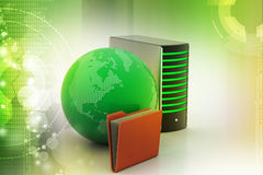 Global networking concept Stock Photo