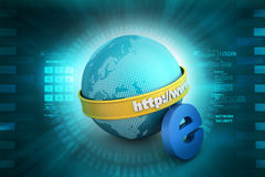 Global networking concept Royalty Free Stock Image