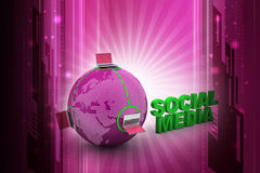 Global networking concept Royalty Free Stock Images