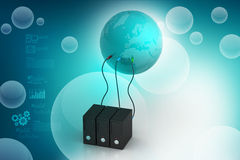 Global networking concept Royalty Free Stock Photo