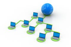 Global networking concept Stock Photography