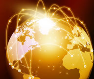 Global networking Royalty Free Stock Image