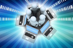 Global networking system Royalty Free Stock Photo