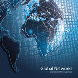 Global Networks - EPS10 Vector for Your Business Stock Image