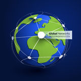 Global Networks - EPS10 Vector for Your Business Royalty Free Stock Image