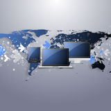 Global Networks, | Eps 10 Vector for Your Business Royalty Free Stock Images