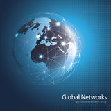 Global Networks - Illustration for Your Business Royalty Free Stock Photos