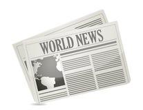 Global news concept Stock Image