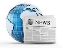 Global news Stock Photography
