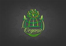 Global organic symbol design Stock Images