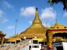 Global pagoda. Place - Mumbai, India stock photos