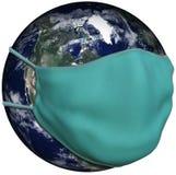 Global Pandemic, Mask, Coronavirus, Isolated, COVID-19