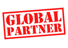 GLOBAL PARTNER Stock Photo