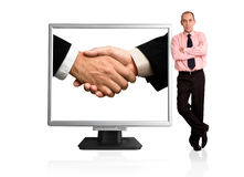 Global partnership Stock Images