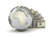 Global payments - concept illustration Royalty Free Stock Image
