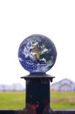 Global pedestal Royalty Free Stock Image