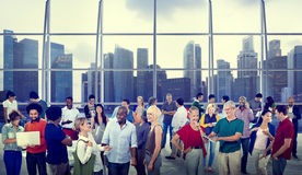 Global People Communication City Concepts Stock Photo