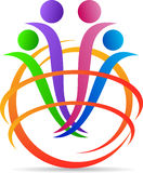 Global people diversity. A vector drawing represents global people diversity design stock illustration
