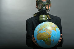 Global pollution Royalty Free Stock Photography