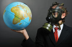 Global pollution Stock Photography