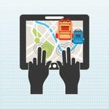 Global positioning system design Stock Images