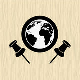 Global positioning system design Stock Photography