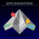 Global Positioning System, navigation. Stock Photos