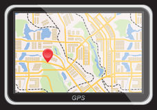 Global Positioning System, navigation. Royalty Free Stock Images