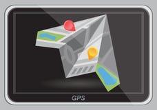 Global Positioning System, navigation. Royalty Free Stock Image
